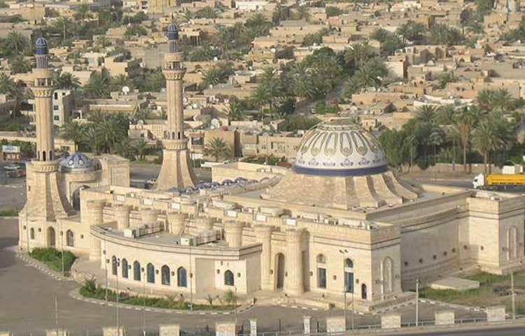 আল নিদা মসজিদ: এই মসজিদটি ইরাকের রাজধানী বাগদাদে অবস্থিত।