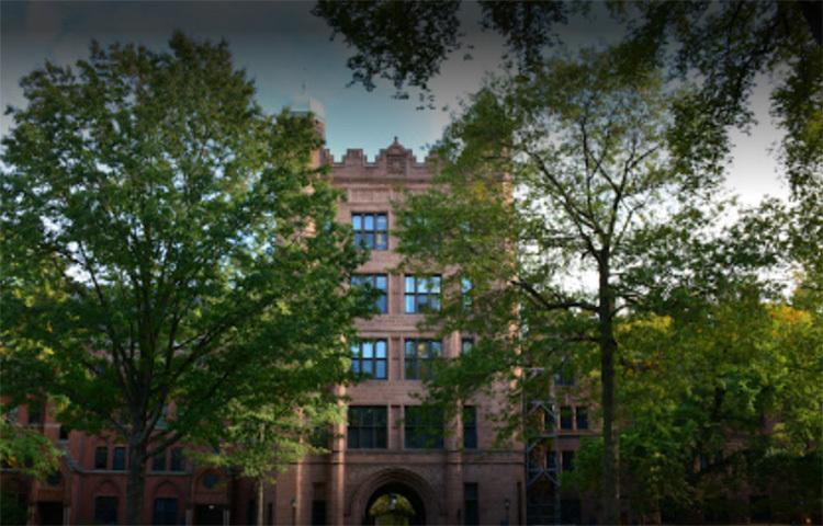 ইয়েল বিশ্ববিদ্যালয়: আমেরিকার এ বিশ্ববিদ্যালয়টি গতবারের মত অষ্টম স্থানে রয়েছে। ছবি: সংগৃহীত