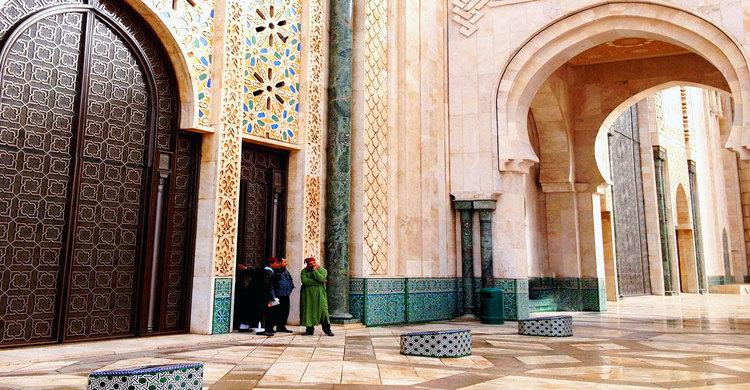 Hasan Mosjid-Inner