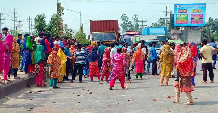 Gazipur-Garment-Unrest