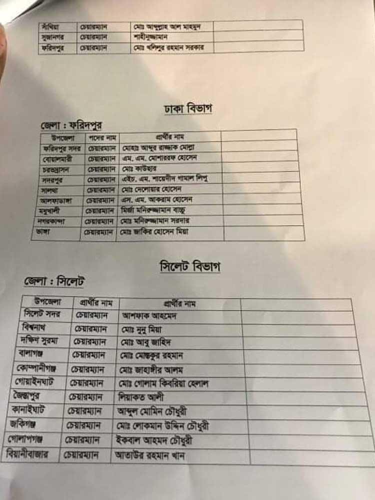 Upazila Election
