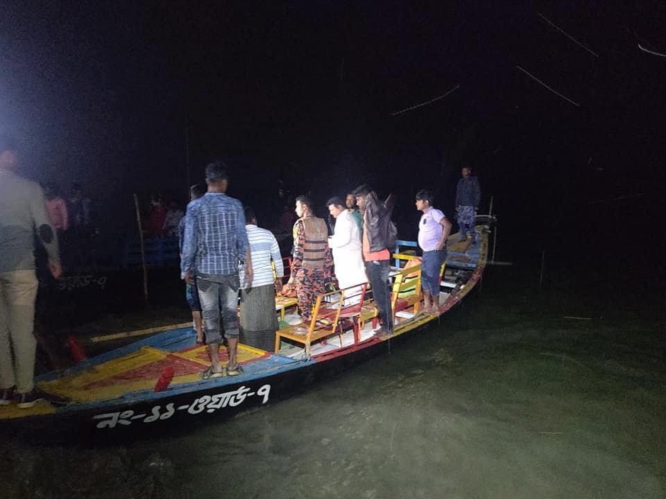 রাজশাহীতে নৌকাডুবি