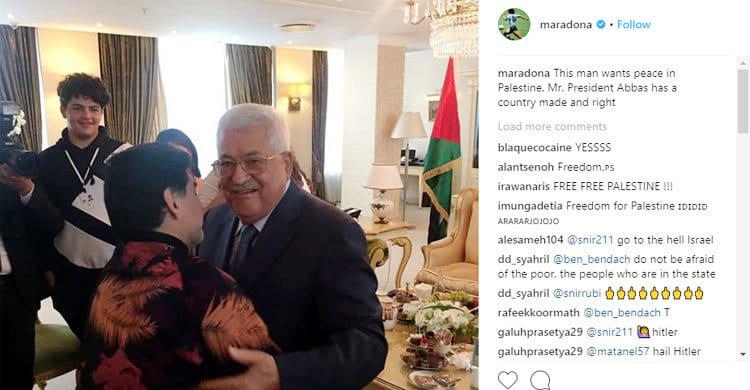 Maradona-Palestine