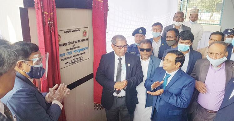 বঙ্গবন্ধুর ম্যুরাল নির্মাণ হবে বেনাপোল স্থলবন্দর স্টেশনে