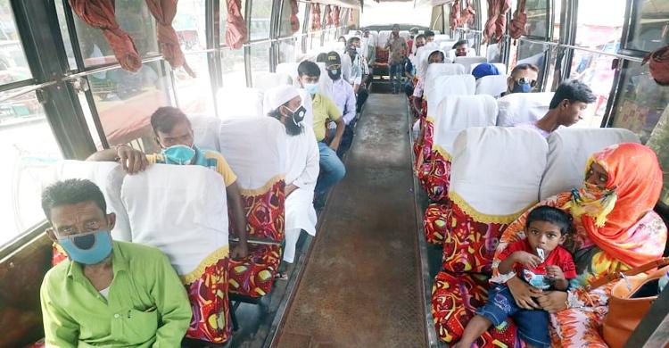 স্বাস্থ্যবিধি মেনে চলবে দূরপাল্লার বাস-ট্রেন-লঞ্চ