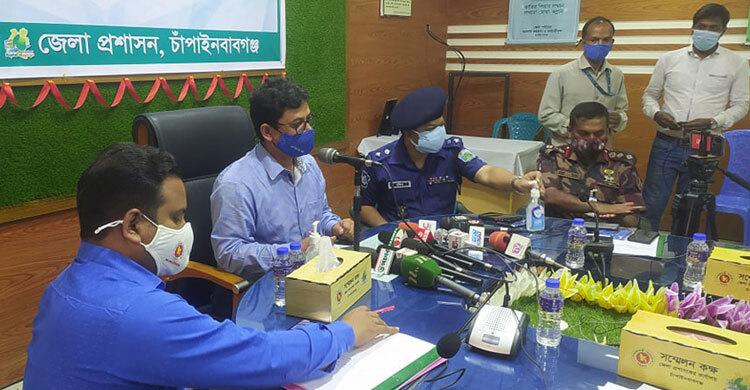 Lockdown in Chapainawabganj extended till June 7