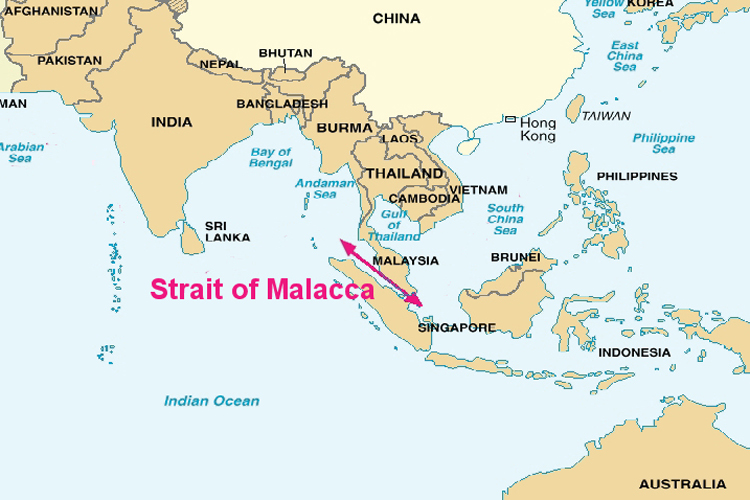 matarbari-deep-sea-port-map