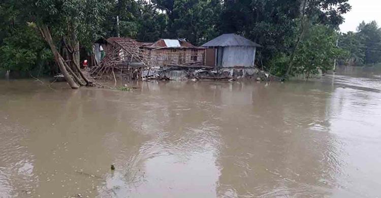 Naogaon-Flood