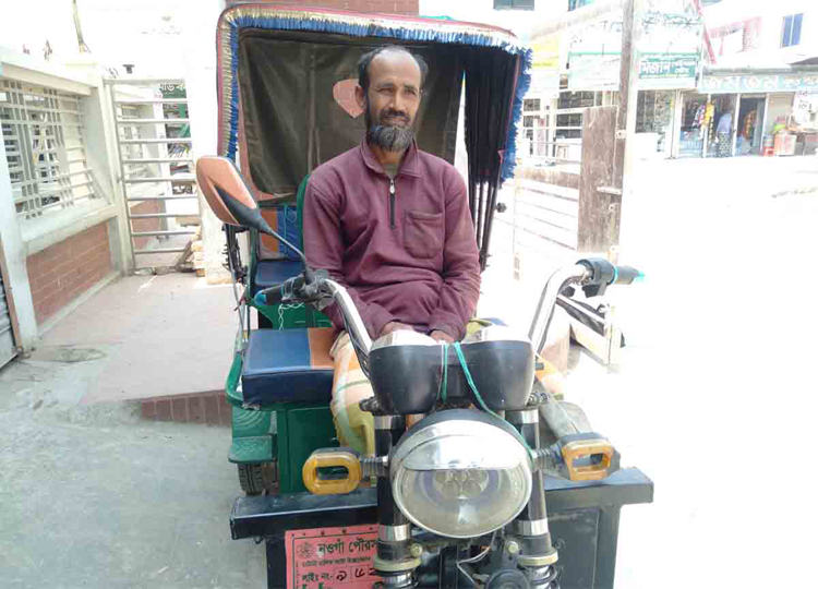 Naogaon-Rickshaw