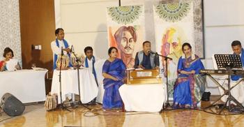 দুবাইয়ে রবীন্দ্র-নজরুল জয়ন্তী উৎসবে মাতলেন প্রবাসী বাঙালিরা