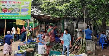 কৃষকের বাজারে বিষমুক্ত ফল-শাকসবজি, দাম স্বাভাবিক