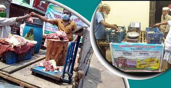 ১৫ দিনে ভ্রাম্যমাণ বাজারে ১৩৩ কোটি টাকার মাছ-মাংস-দুধ-ডিম বিক্রি