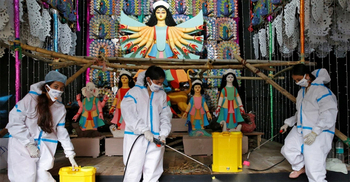 ভারতে তিন মাসের মধ্যে সবচেয়ে কম সংক্রমণ