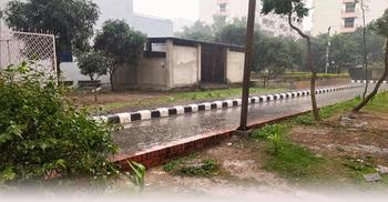 ঢাকায় গুঁড়ি গুঁড়ি বৃষ্টি | ২০ জানুয়ারি ২০২১