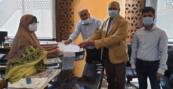 শ্রমিক কল্যাণ তহবিলে এক কোটি টাকা দিল লাফার্জ হোলসিম