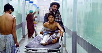 আফগানিস্তানে দুটি বাসে বোমা হামলায় ১৩ জন নিহত