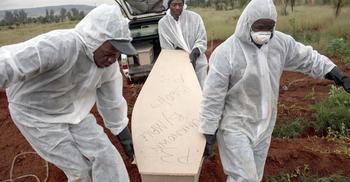 করোনা : ১৫ লাখ কবর খুঁড়ে রাখছে দ. আফ্রিকা