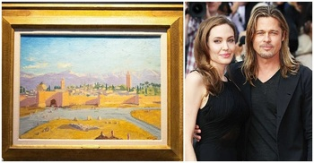 Angelina Jolie sells Churchill painting for £7m