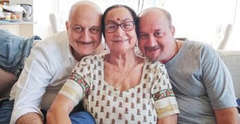 Anupam Kher's mother, brother, sister-in-law and niece test covid-19 positive