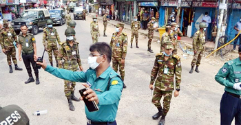 চৌহাট্টায় সেনাবাহিনীর বোমা নিষ্ক্রিয়কারী দল