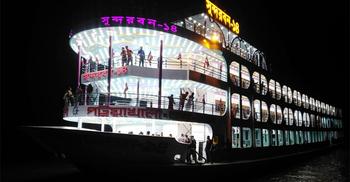 ঢাকা-পটুয়াখালী নৌপথে চালু হচ্ছে বিলাসবহুল চার তলা লঞ্চ