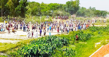 ব্রাহ্মণবাড়িয়ায় ড্রেন নির্মাণ নিয়ে দু'পক্ষের সংঘর্ষে আহত ৫০