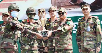 সেনাবাহিনীর ফায়ারিং প্রতিযোগিতায় চ্যাম্পিয়ন সাত পদাতিক ডিভিশন