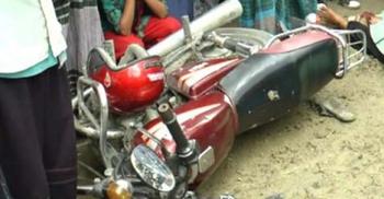 সিরাজগঞ্জে নসিমন-মোটরসাইকেল সংঘর্ষে নিহত ২