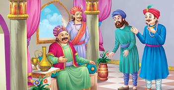 আজকের রসালাপ: বীর বলের দুইটি মজার গল্প