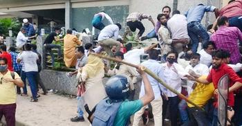 নয়াপল্টনে সংঘর্ষ: বিএনপির ৫০ নেতাকর্মী কারাগারে