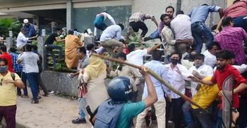 নয়াপল্টনে বিএনপি-পুলিশ সংঘর্ষ: দেড় হাজার আসামি