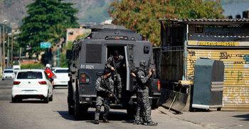 রিও ডি জেনিরো শহরে গোলাগুলিতে ২৫ জন নিহত