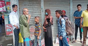 সুনামগঞ্জে হঠাৎ বাস ধর্মঘটে ভোগান্তিতে মানুষ