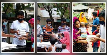 ১০ টাকায় ইফতারসামগ্রী পৌঁছে দিচ্ছে যে সংগঠন