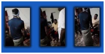চোর সন্দেহে যুবককে মারধর করলেন ইউপি চেয়ারম্যান, ভিডিও ভাইরাল