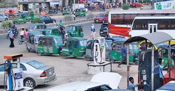 রোববার থেকে প্রতিদিন ৪ ঘণ্টা সিএনজি স্টেশন বন্ধ