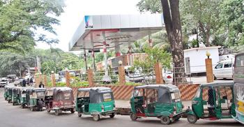 আজ থেকে প্রতিদিন ৪ ঘণ্টা বন্ধ সিএনজি স্টেশন
