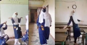 ক্লাসরুমে পাঁচ ছাত্রীর টিকটক ভিডিও ভাইরাল