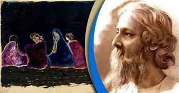 রবীন্দ্রনাথ ঠাকুরের চিত্রকলা প্রতিভা