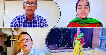 ক্যাম্বেলটাউন বাংলা স্কুলের উদ্যোগে 'রুদ্ধ সময়েও মুক্ত প্রাণ'