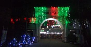 বিজয় দিবস উপলক্ষে বর্ণিল সাজে ঢাকা কলেজ