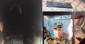 দিল্লিতে ঘর পুড়েছে বিএসএফ জওয়ানেরও