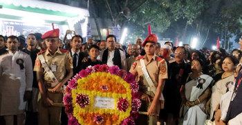 ঢাকা কলেজে আন্তর্জাতিক মাতৃভাষা দিবস পালিত
