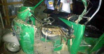 দিনাজপুরে ট্রাক্টর-সিএনজির সংঘর্ষে দুইজন নিহত