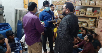অনুমোদনহীন কারখানায় নকল ঔষধ তৈরি, ৩ জনের কারাদণ্ড