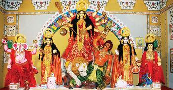 চরণামৃত দিয়ে উপবাস ভাঙলেন সনাতন ধর্মাবলম্বীরা
