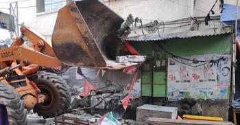 ঢাকা দক্ষিণে অবৈধ ক্যাবল-স্থাপনা-হকার উচ্ছেদ