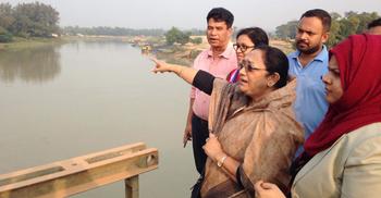 ভারত ফেনী নদীর পানি নিলে কোনো ক্ষতি হবে না : শিরীন আখতার