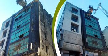 প্রেস ক্লাব সংলগ্ন সার্জিক্যাল মার্কেটে আগুন, নিয়ন্ত্রণে ১১ ইউনিট