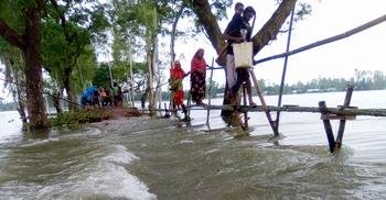 গাইবান্ধায় ফের ৩০ গ্রাম প্লাবিত